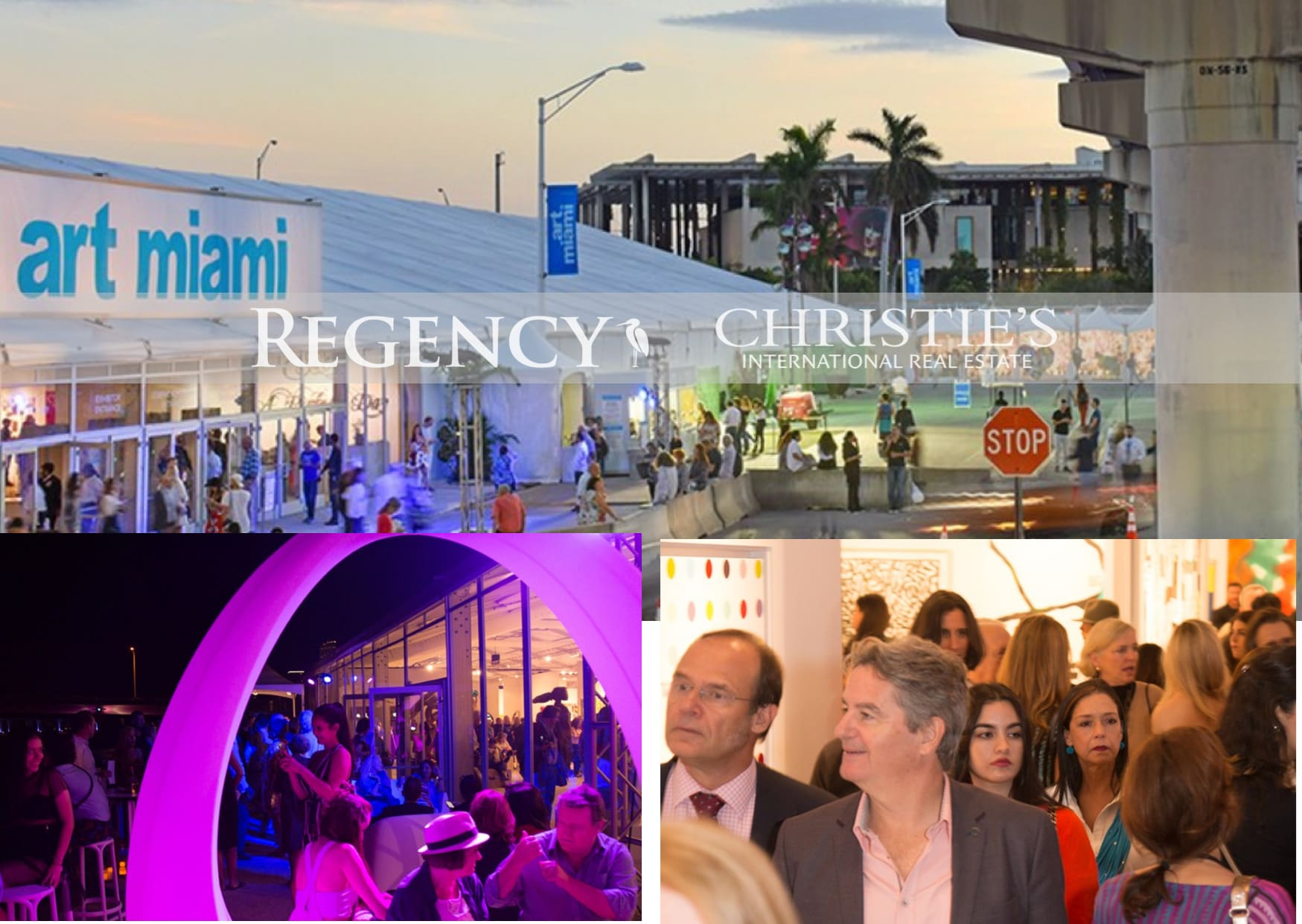 Regency The Exclusive Affiliates of Christie's International Real Estate Promote their Signature Properties at Art Miami 2018